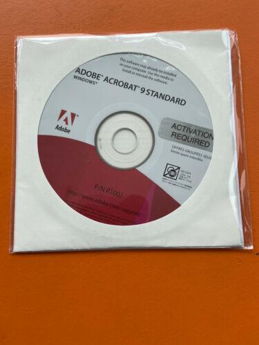 Adobe Acrobat 9 Standard For PC Open Box