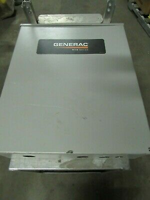 Generac Rtsn100g3 100 Amp 480v Automatic Transfer Switch Xlnt