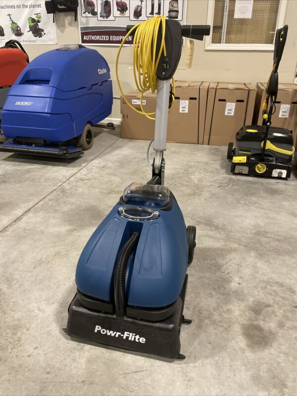 """NEW! Powr-Flite 16"""" Compact Auto Scrubber and Grout Cleaner!!"""