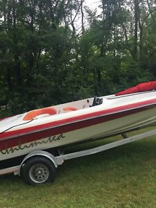 Runabout rare boat poor mans donzi