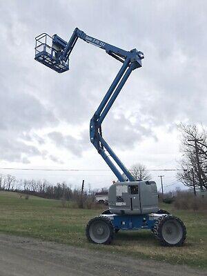 2013 Genie Z-4525j Gas Propane Articulating Boom Lift Man Aerial Jib- 551 Hrs