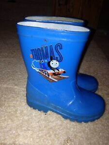 Size 8 Thomas rain boots & Gap shoes