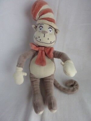 Dr. SEUSS The Lorax Project My Natural Plush Cat In The Hat Plush Doll 12