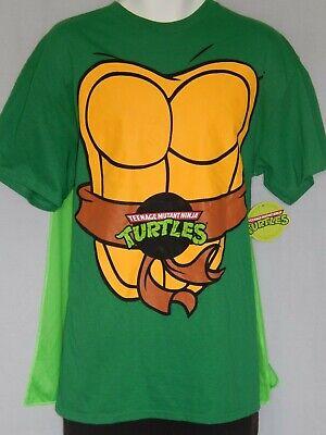 Teenage Mutant Ninja Turtles Kostüm Tmnt Halloween Umhang - T Shirt Ninja Kostüm