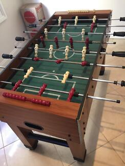 Well loved Foosball table
