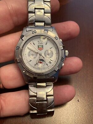 Vintage Tag Hauer Mens Watch For Parts