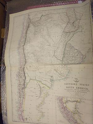 Southern StatesSouth America LaPlata,Chili,Paraguay,UruguayPatagoniaFramed40more