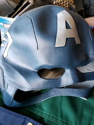 Captain Condom Halloween Costume (Captain America Rubber Mask Cosplay Costume From Japan)