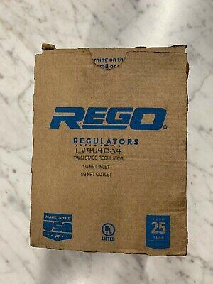 Rego Twin Stage Lp Gas Regulator Lv404b34