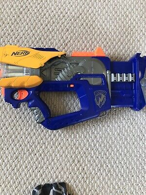 Nerf N-Strike Firefly REV-8 Dart Gun Blaster (Glow in the Dark Darts)