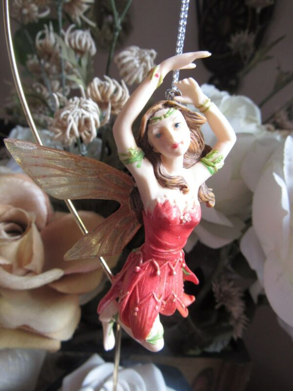 Retired 2005 Faerie Glen RINABLAZE FG5827 Fairy Christmas Ornament Munro