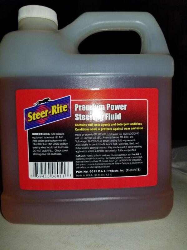 Steer Rite Premium Power Steering Fluid - 64 fl oz