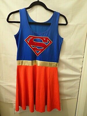 Superwoman Supergirl Superman Halloween/Costume Dress