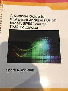 Statistical analysis Concise Guide