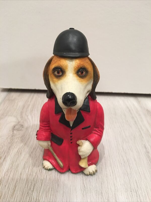 Blythe Collectibles Staffordshire, England Dogsbodies Huntmaster Fox-Hound 212