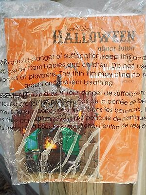 DEPT 56 HALLOWEEN VILLAGE Ghost Town HACKMANN'S BLACKSMITH SHOP NIB *Sealed* (Halloween Shops)