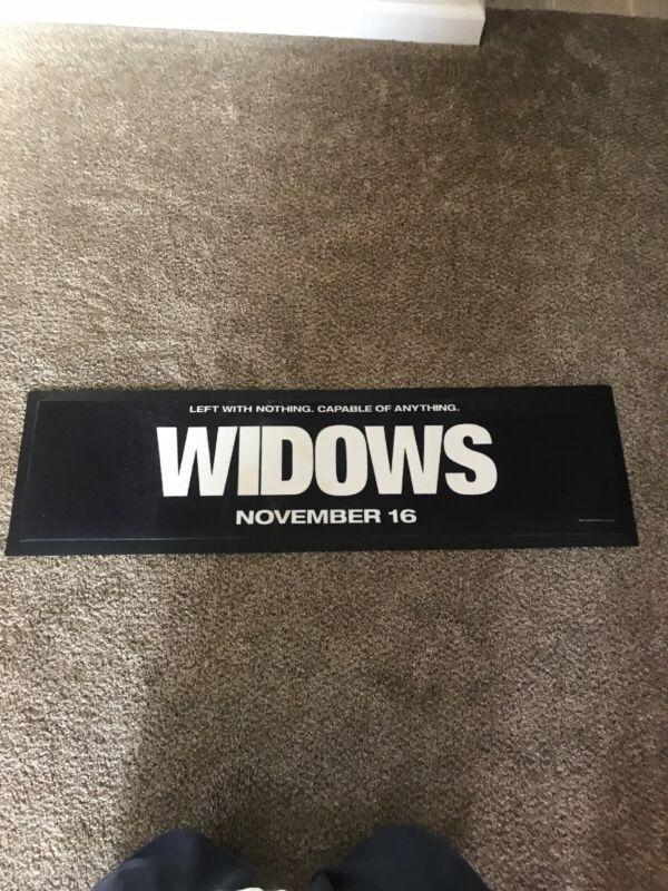 Widows Movie Bar Mat Beer Wine Drinks Party Mat
