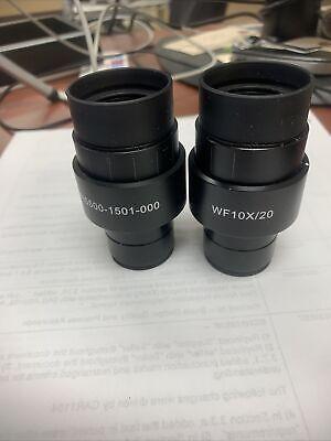 Carl Zeiss Wf10x 20 Primo Microscope Eyepieces 415500-1501-000