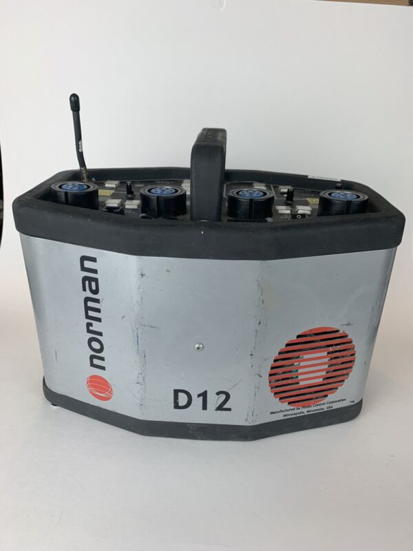 Norman D12 Digital Power Pack Photography Lighting Power Supply