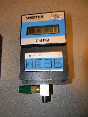 Ametek Cal-pal 0 To 10 Psi 0 To 0.7 Bar Electronic Pressure Calibrator