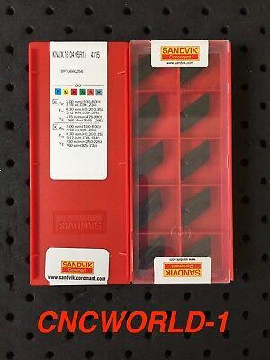10 Pcs Sandvik Knux 160405r11 4315 1 Box Original Sandvik