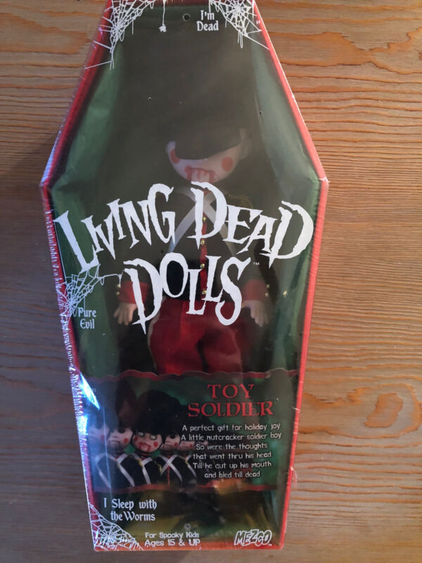 Living Dead Dolls Toy Soldier Christmas Sealed