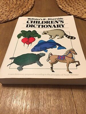 The Webster's II New Riverside Children's Dictionary by Houghton Mifflin Company