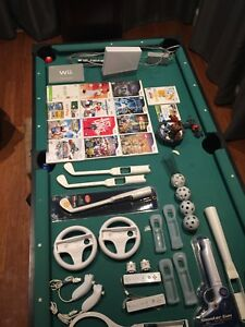 Wii and Wii Fit plus many games and accessories
