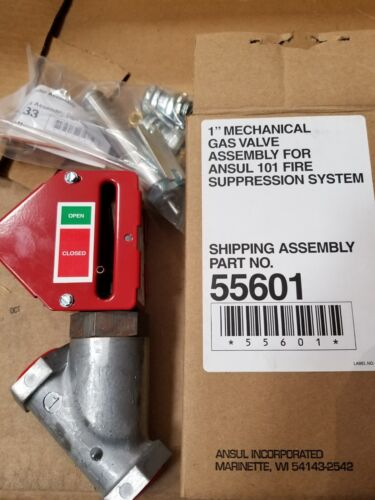 "Ansul part # 55601 1"" Mechanical Gas Valve Assembly"