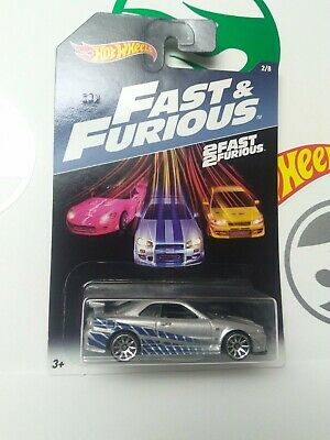Hot Wheels Fast and Furious. 2 Fast 2 Furious Nissan Skyline GT-R (R34).