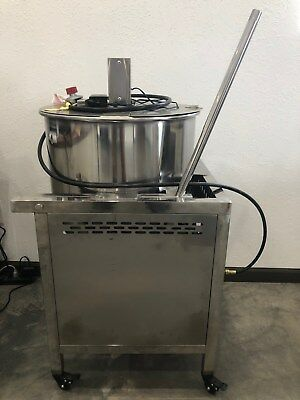 Kettle Corn Gourmet Popper 80 Quart Unit Only New Commercial Popcorn Machine