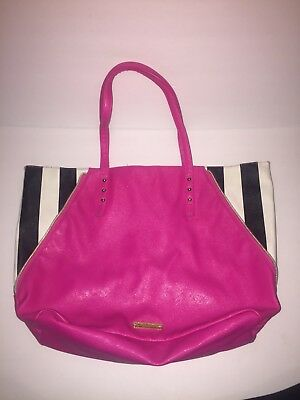 Couture Zebra - Juicy Couture Purse Pink With Zebra Stripes