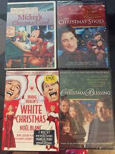 Christmas DVDS Movies $20 for all 4