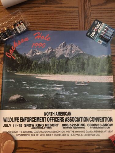 North American Wildlife Enforcement Officers Association (NAWEOA) Wyoming 1990