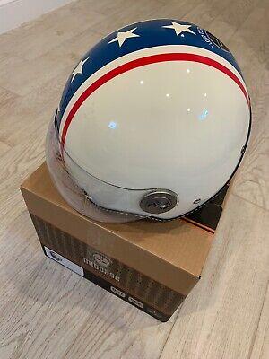 Nutcase Moto Motor Sport Helmet Large - Americana