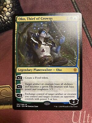 Oko, Thief of Crowns Near Mint Normal English Magic Card Throne of Eldraine MTG