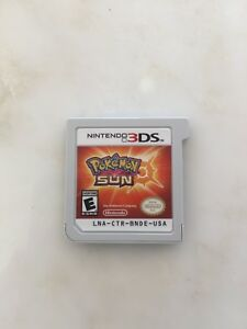 Pokemon Sun 3DS