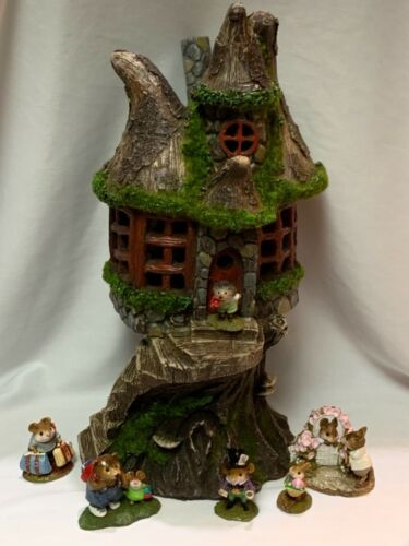 Tree House Display for Wee Forest Folk WFF not Included