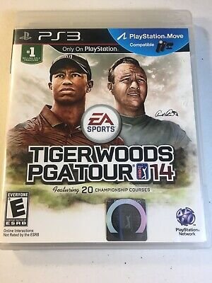 Tiger Woods PGA Tour 14 PlayStation 3 PS3 TESTED VERY GOOD COMPLETE 2014 Golf