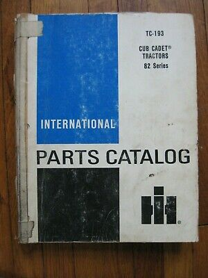International 282 382 383 482 580 582 682 782 784 982 984 986 1282 Parts Catalog