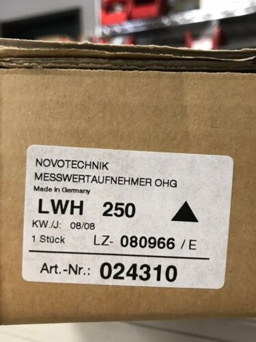 LWH250 NEW Novotechnik Position Transducer LWH250 LWH 250