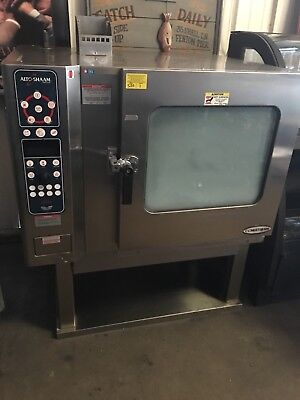 Alto Shaam Natural Gas Combi Combitherm Oven Steamer Model 7.14mlg