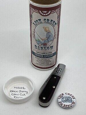 Great Eastern Cutlery GEC knife Lick Creek TC Barlow SFO 142216