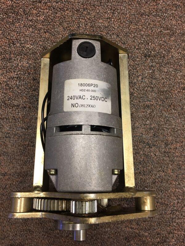 HK Spring Charging Motor ABB 168631T02 New  240 Volt AC DC SKI 785