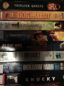 140 VHS Movies, film of year, action ask 1.00 or BO takes all London Ontario image 8