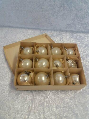Alte Christbaumschmuck Weihnachtskugel Glaskugeln DDR Lauscha Glas #3522