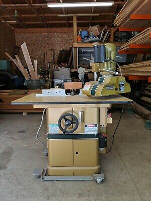 Powermatic Shaper With Power Feed