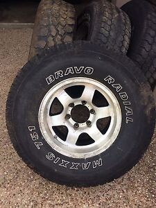 Toyota/Nissan/Holden 4x4 rims and tyres Banora Point Tweed Heads Area Preview