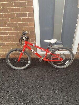 "Hoy Bonaly bike 20"" Wheels - Red and White kids Boys/ Girls bike With 6 Gears"