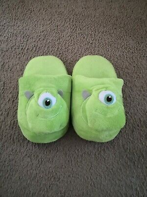 MIKE WAZOWSKI KIDS MONSTER'S INC SLIPPERS - SIZE - Monster Inc Kid